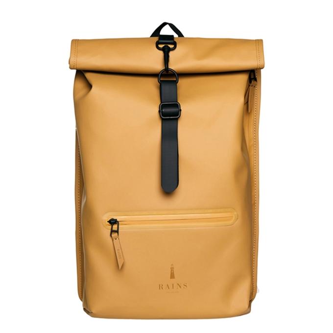 Rains Original Roll Top Backpack khaki