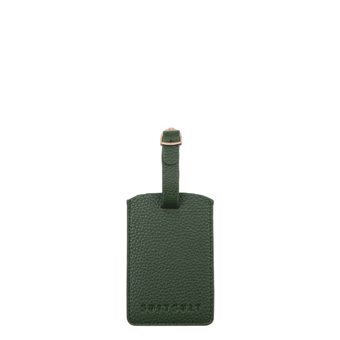 SuitSuit Fab Seventies Classic Luggage Tag beetle green