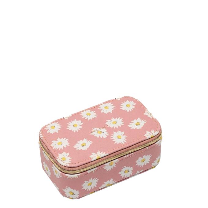 Estella Bartlett Mini Jewellery Box Daisy Print blush