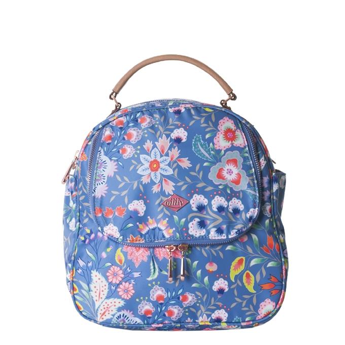Oilily Aqua Sits Backpack-Shoulder Bag riviera