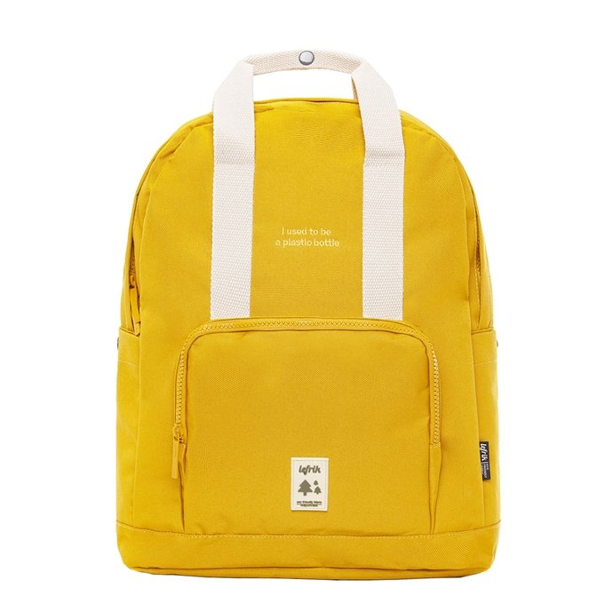 Lefrik Capsule Backpack mustard - 1