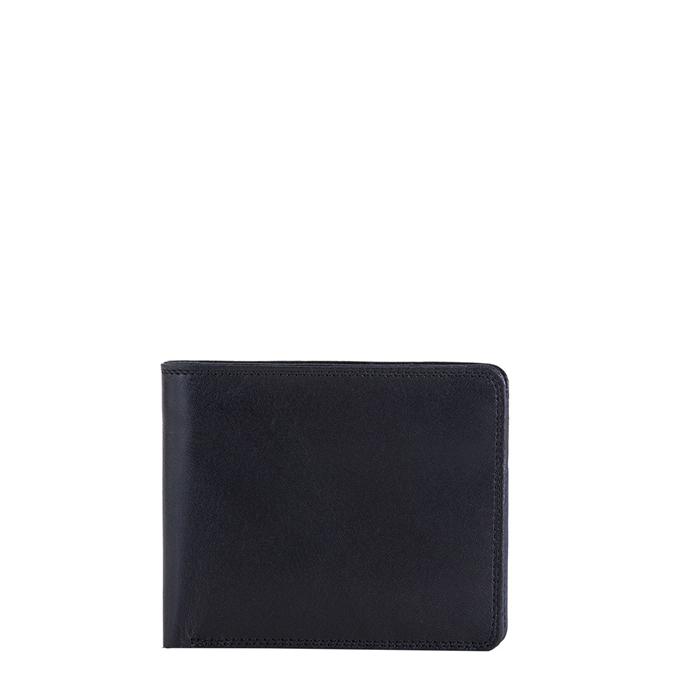 Mywalit Standard Wallet w/Coin Pocket black/blue