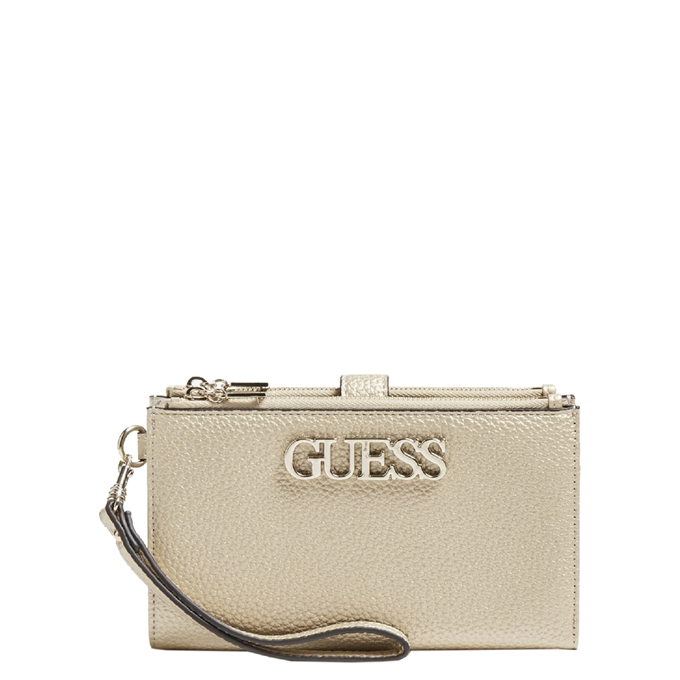 Guess Uptown Chique Portemonnee goud
