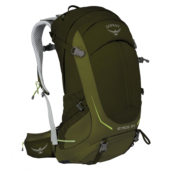 Osprey Stratos 34 Backpack S/M gator green