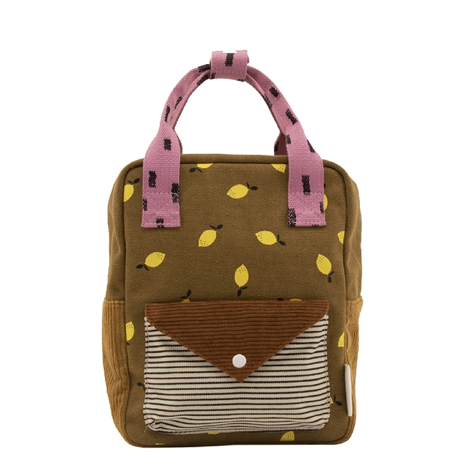 Sticky Lemon Corduroy Special Edition Backpack S dijon gingerbread