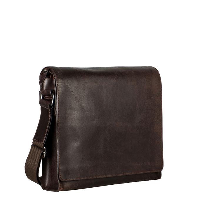 Leonhard Heyden Dakota Shoulder Bag M brown