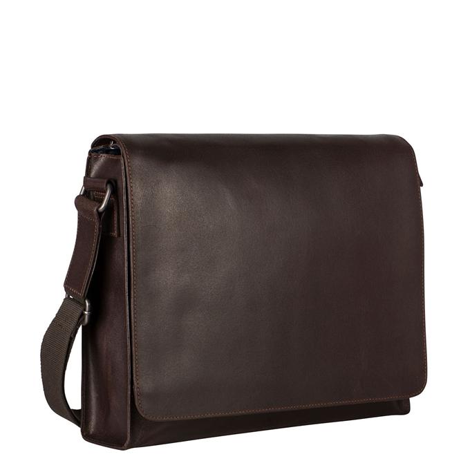 Leonhard Heyden Dakota Shoulder Bag L brown