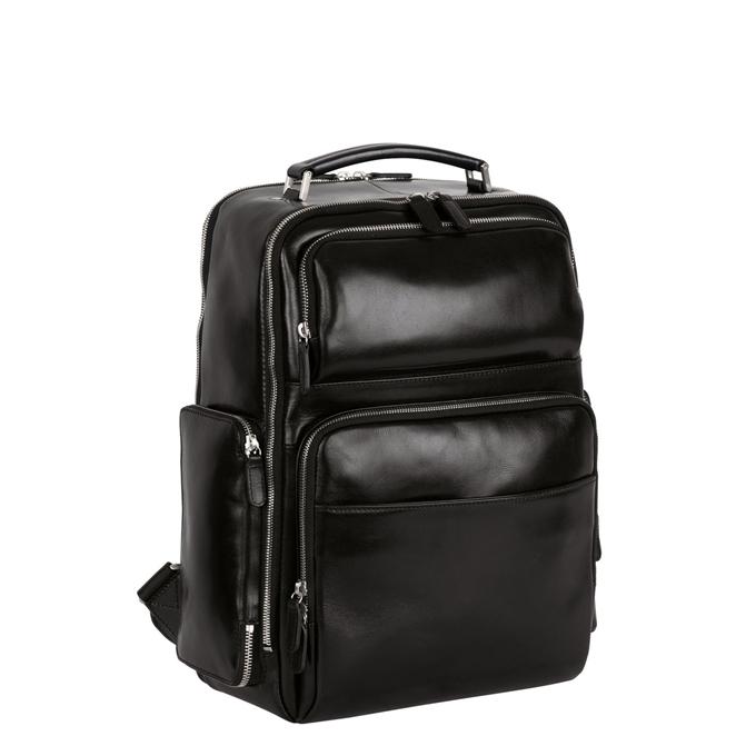 Leonhard Heyden Cambridge Business Backpack black