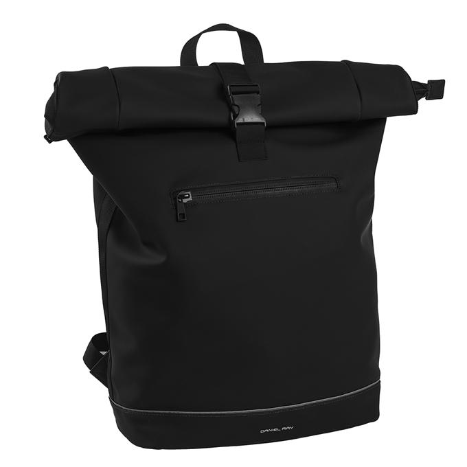 Daniel Ray Leek Waterafstotende Laptop Backpack 15.6'' L black