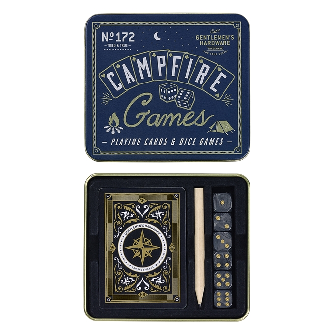 Gentlemen's Hardware Campfire Games blue