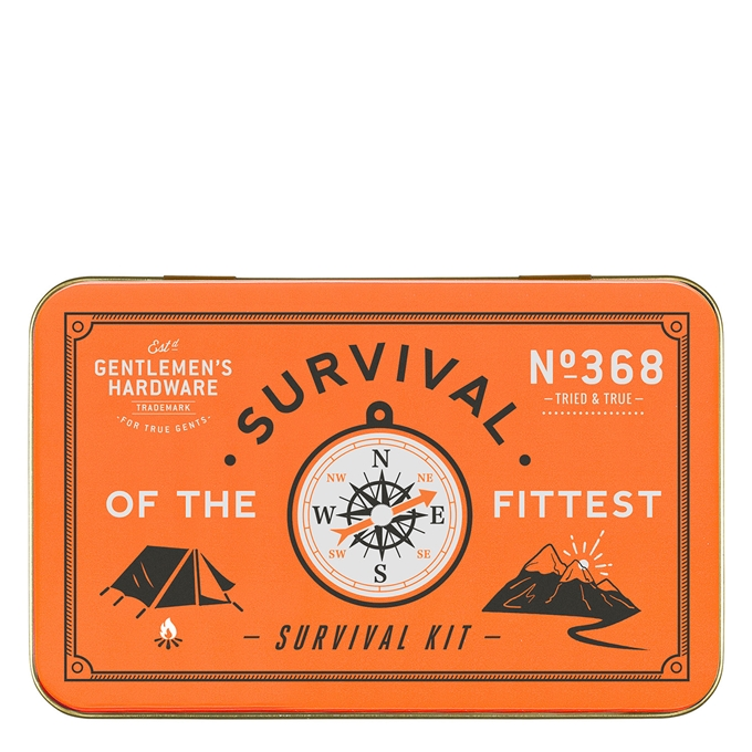 Gentlemen's Hardware Survival Kit orange