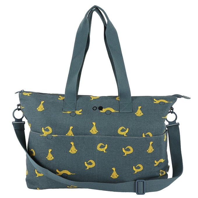 Trixie Whippy Weasel Diaper Bag blue