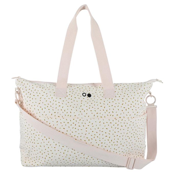 Trixie Moonstone Diaper Bag white