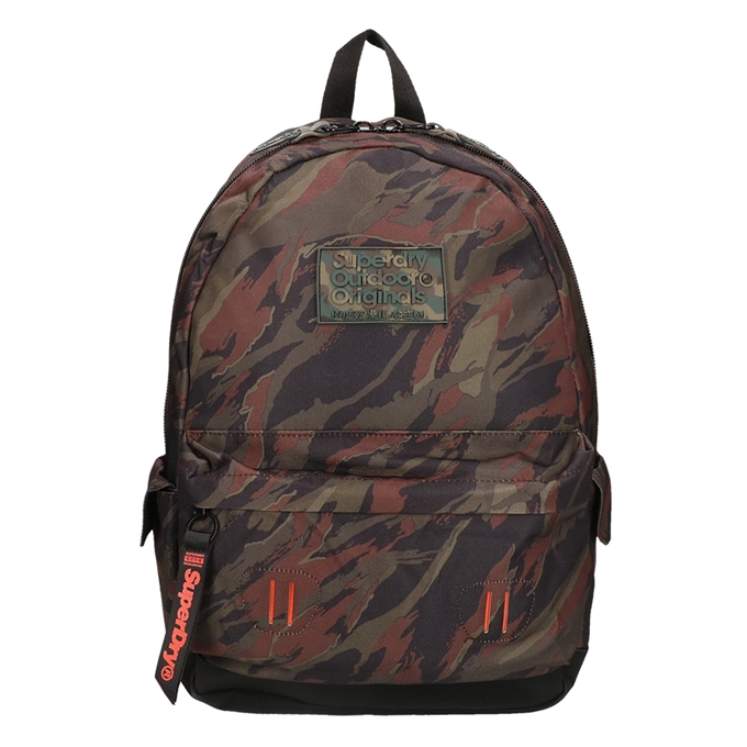 Superdry Montana Disruptive Camo Backpack green