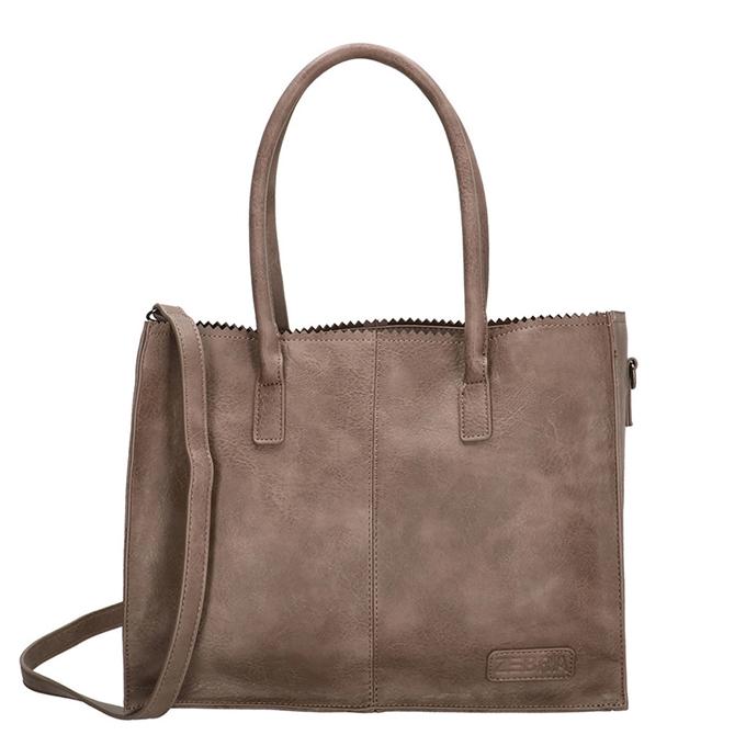Zebra Trends Natural Bag Kartel Lisa stone grey