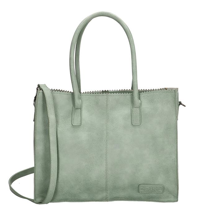 Zebra Trends Natural Bag Kartel Lisa mint