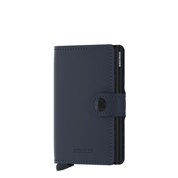 Secrid Miniwallet Portemonnee matte night blue - 1