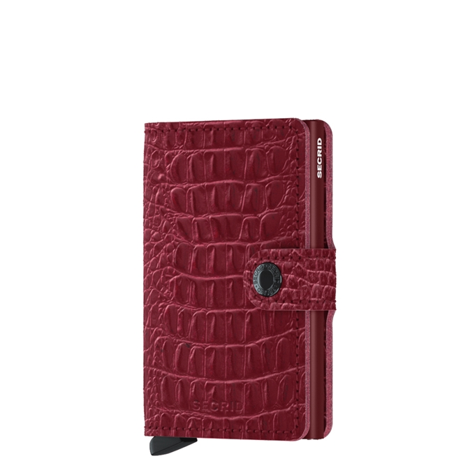 Secrid Miniwallet Portemonnee nile ruby - 1