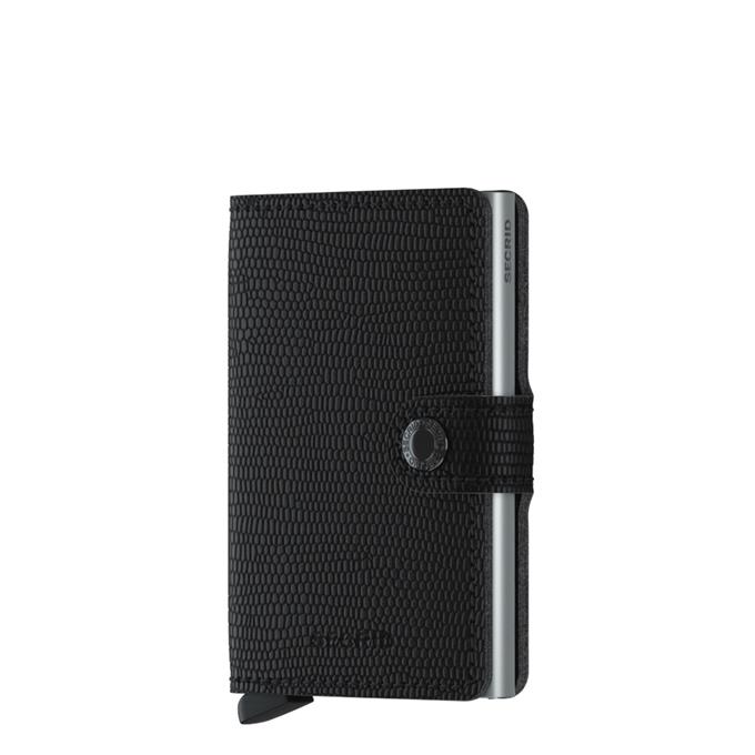 Secrid Miniwallet Portemonnee rango black - 1