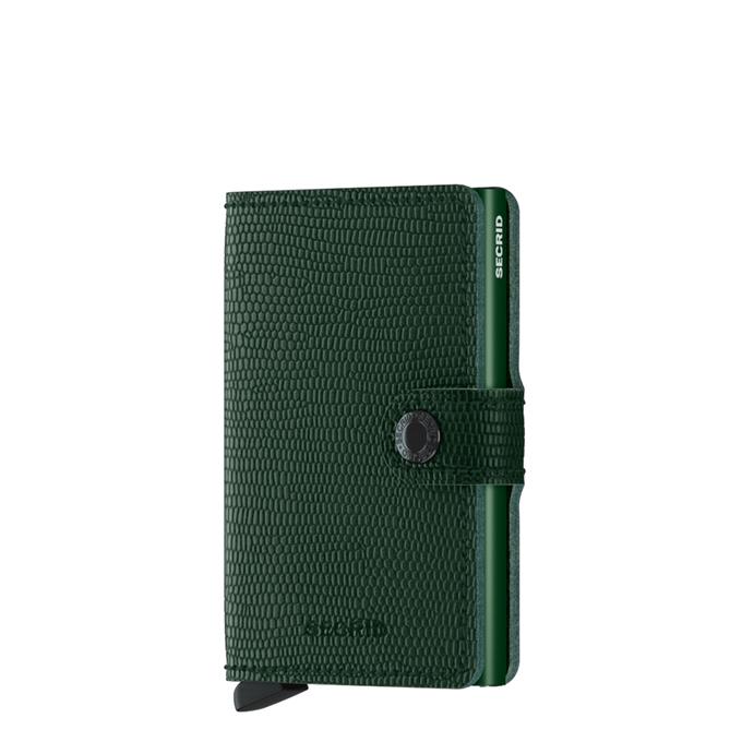 Secrid Miniwallet Portemonnee rango green - 1