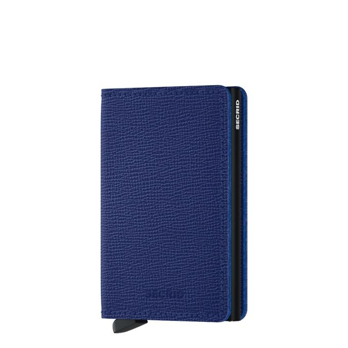 Secrid Slimwallet Portemonnee crisple blue - 1