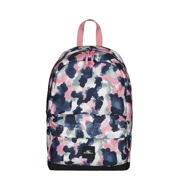 O'Neill BM Coastline Mini Backpack blue aop w/red