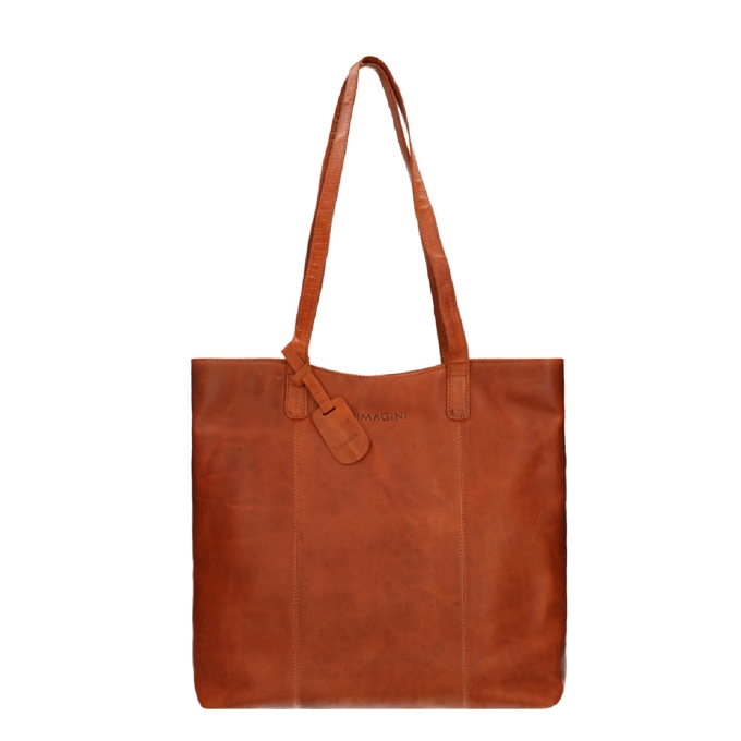 "Dimagini Classics 15"" Business Shopper cognac - 1"