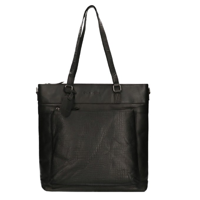 "Dimagini Classics 15"" Croco Business Shopper black - 1"