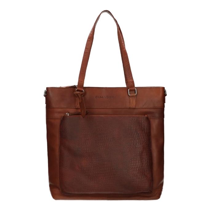 "Dimagini Classics 15"" Croco Business Shopper brown - 1"