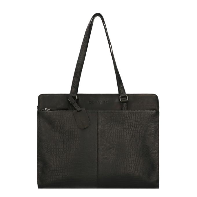 """Dimagini Classics 15,6"""" Croco Businessbag black - 1"""
