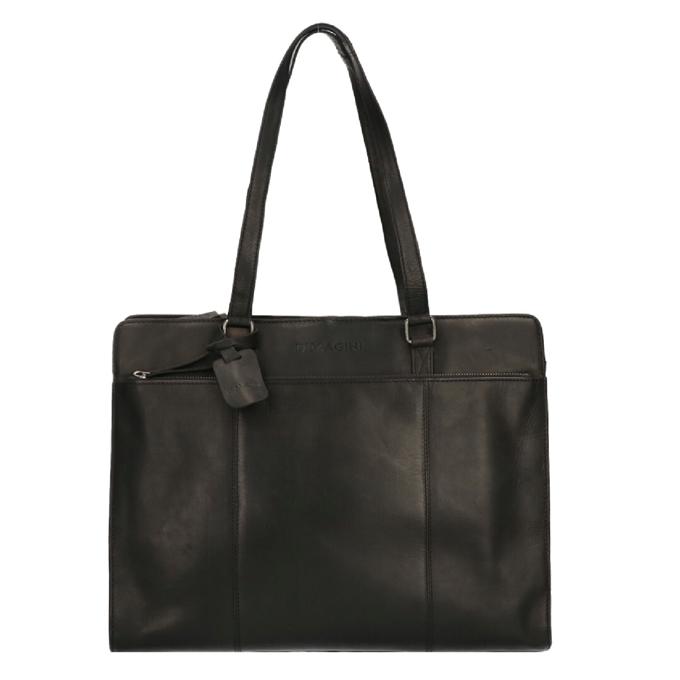 """Dimagini Classics 15.6"""" Leather Businessbag black - 1"""