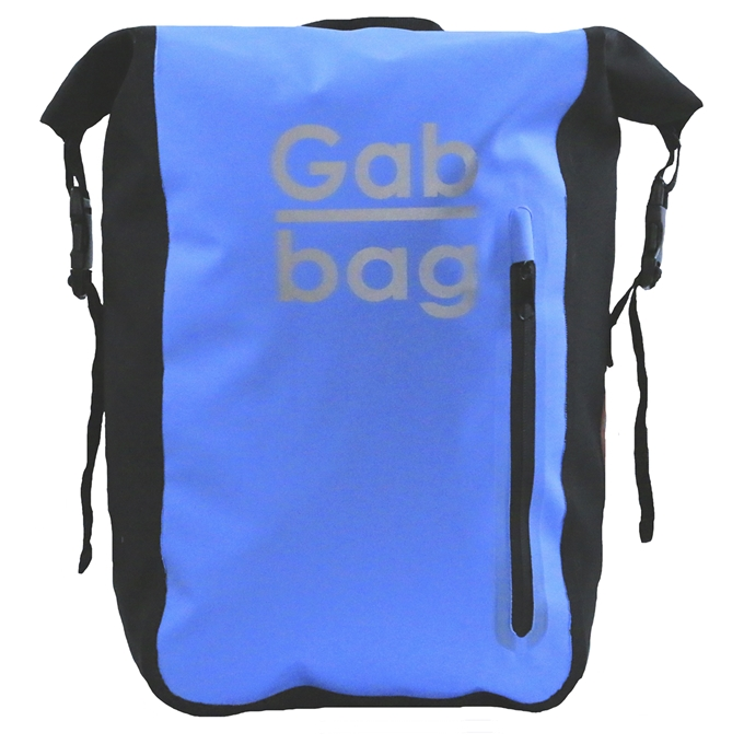 Gabbag Reflective Waterdichte Rugzak 25L blauw - 1