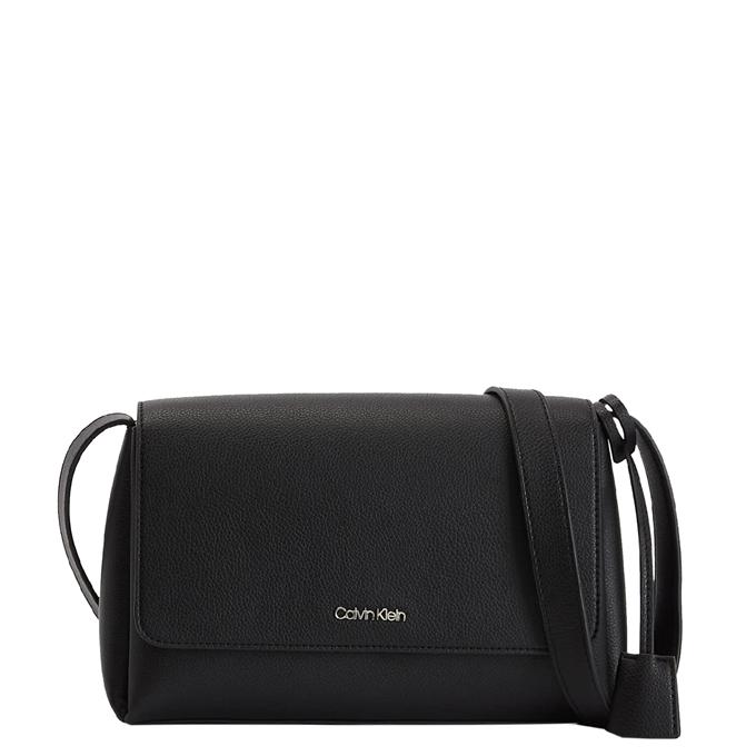 Calvin Klein Flap Crossbodybag black