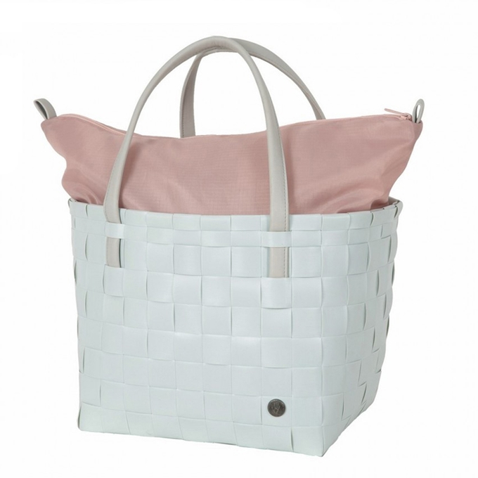 Handed By Color Deluxe Shopper misty grey