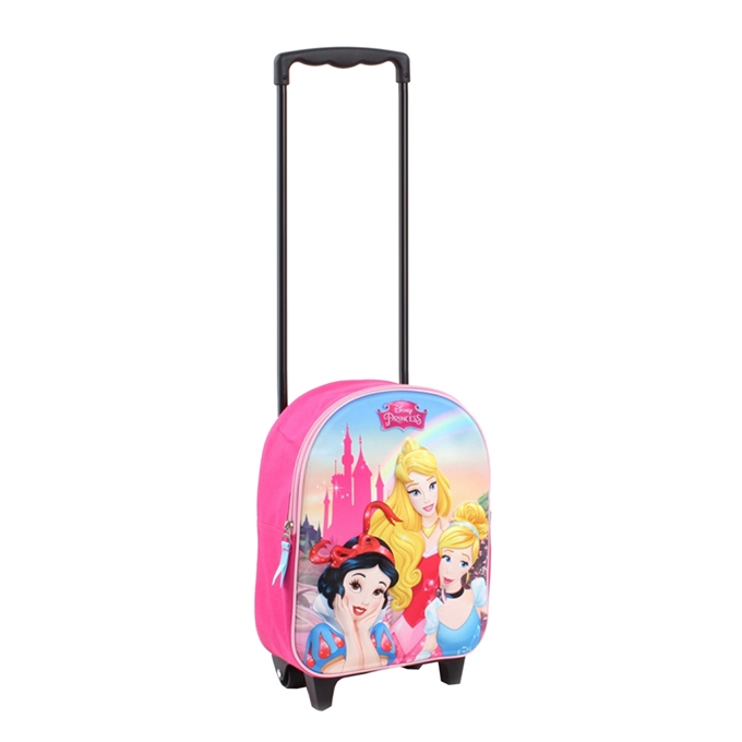 Disney Trolley Rugzak Princess Enchanted 3D pink - 1