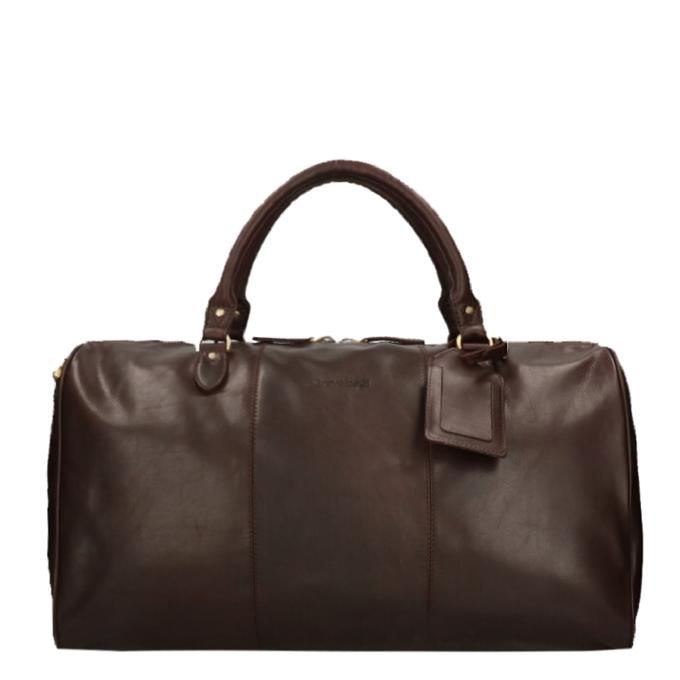 Travelbags The Weekender Duffel brown