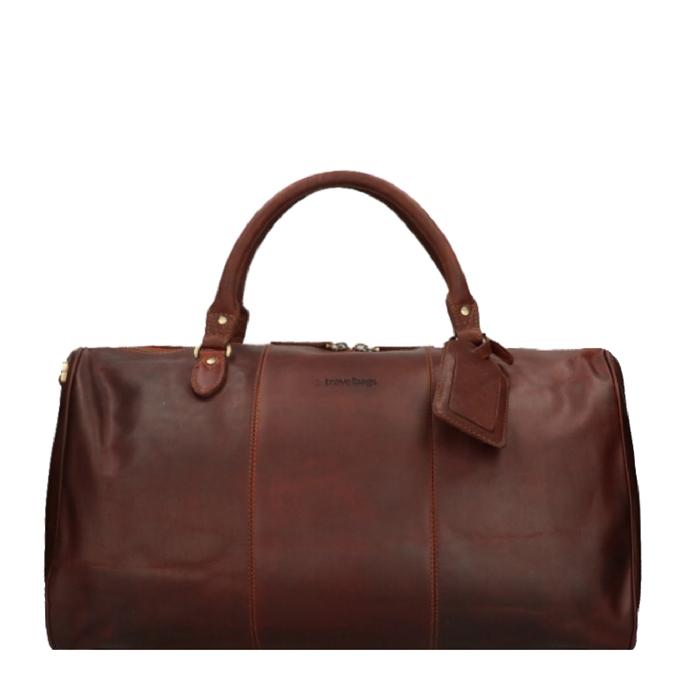 Travelbags The Weekender Duffel cognac