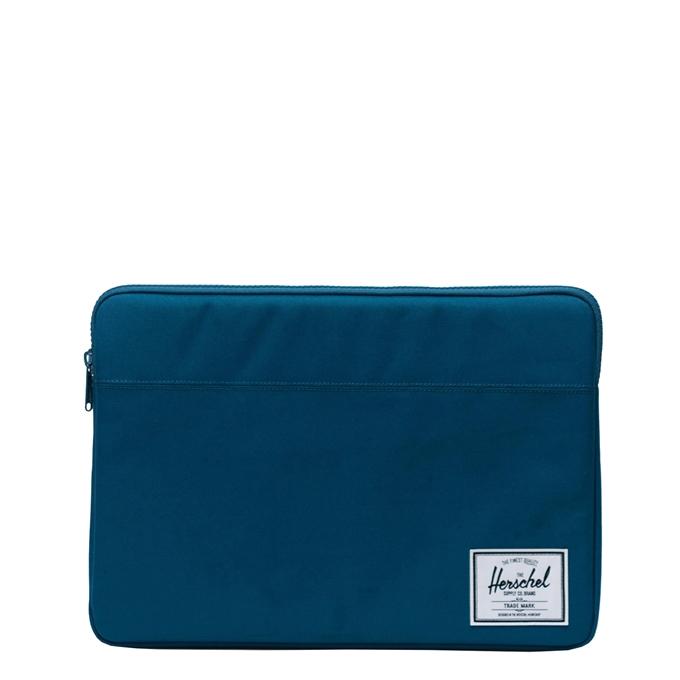 "Herschel Supply Co. Anchor Laptop Sleeve 15"" moroccan blue"