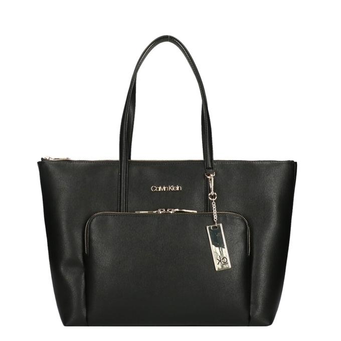 Calvin Klein Campus Shopper Saffiano black