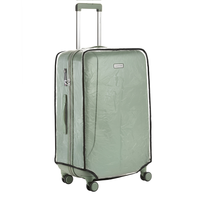 CarryOn Accessoires Kofferhoes Transparant Maat L transparant