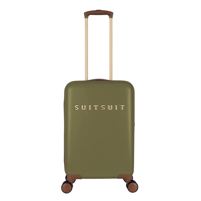 SUITSUIT Fab Seventies Handbagage Trolley 55 cm martini olive - 1