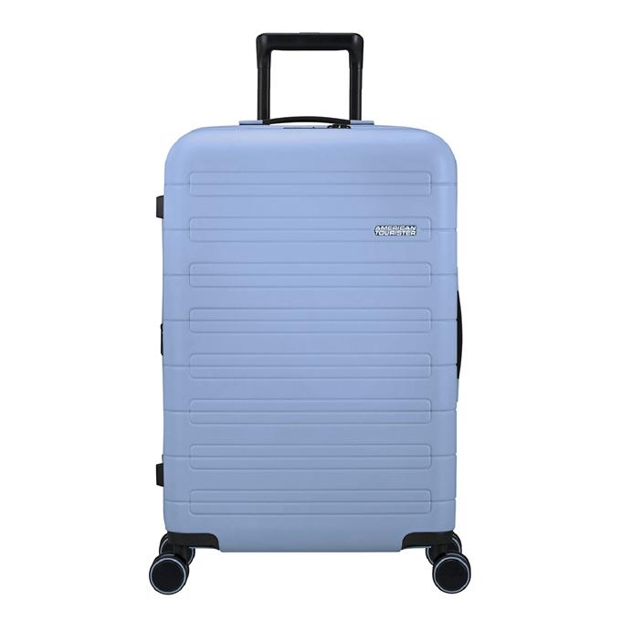 American Tourister Novastream Spinner 67 Exp pastel blue