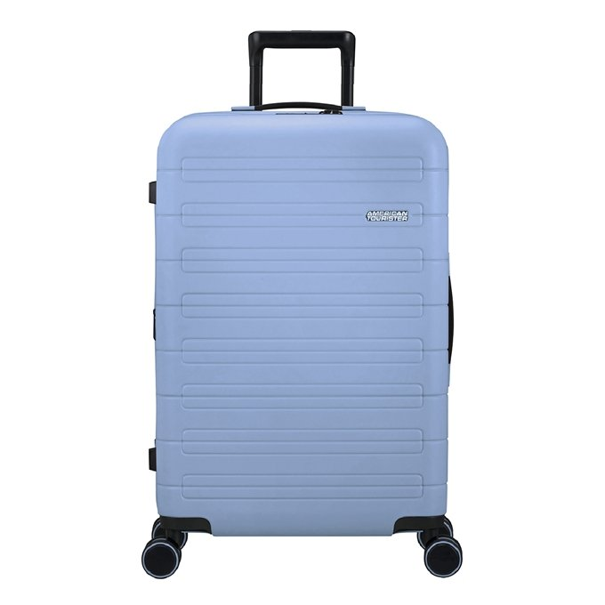 American Tourister Novastream Spinner 77 Exp pastel blue
