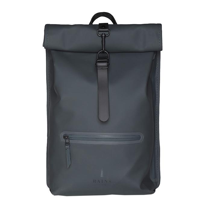 Rains Original Roll Top Backpack slate