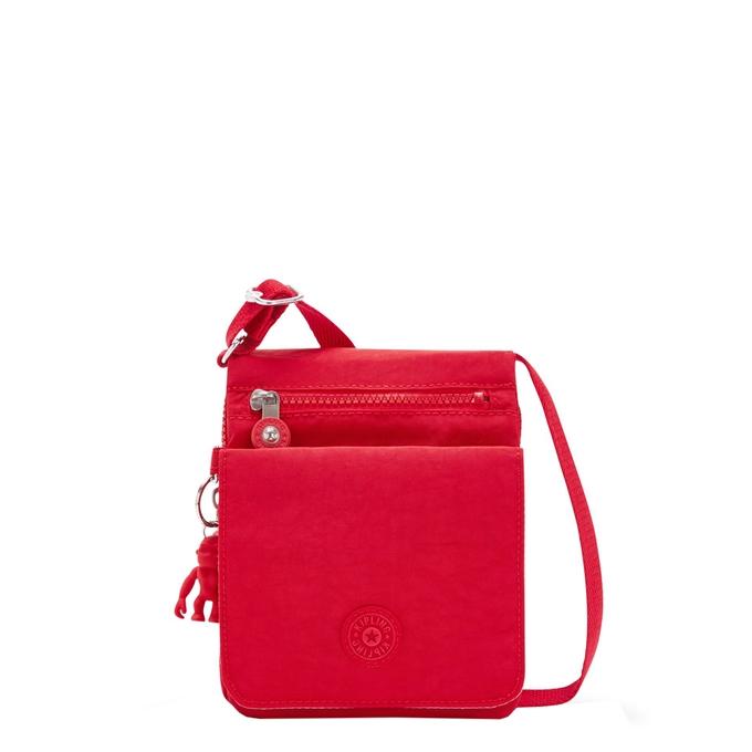 Kipling New Eldorado Crossbodytas red rouge