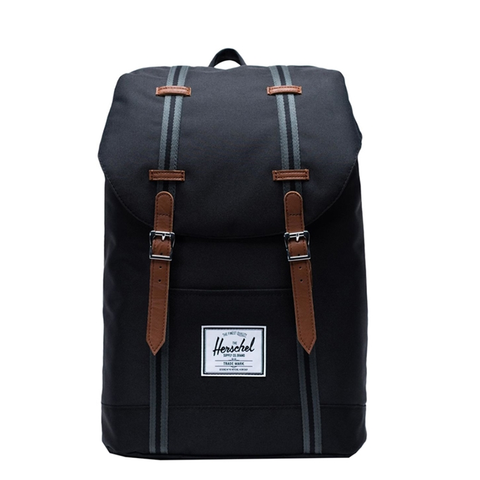 Herschel Supply Co. Retreat Rugzak black/black/tan - 1