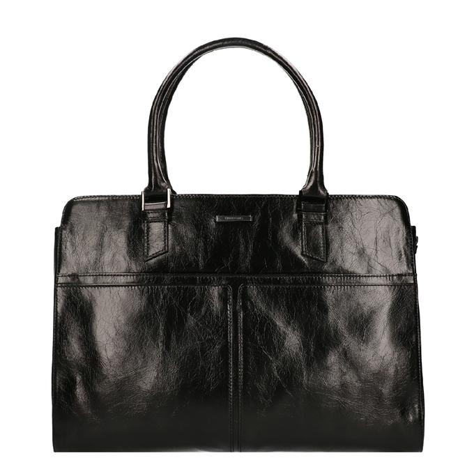 Claudio Ferrici Pelle Vecchia Workbag black