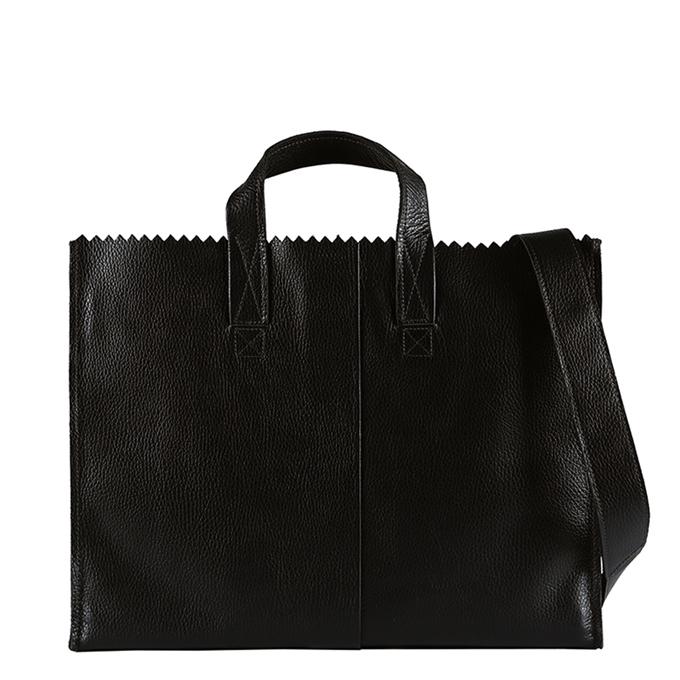 Myomy Paper Bag Business Bag rambler black