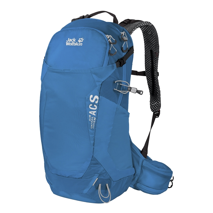 Jack Wolfskin Crosstrail 24 LT Hiking Pack blue jewel