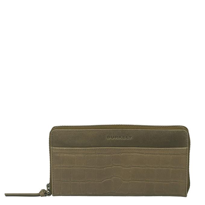 Burkely Croco Cassy Wallet L golden green